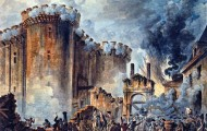 Prise de la Bastille - Storming of The Bastile by Jean-Pierre Houël