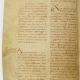 The earliest surviving copy of Flodoard's Annals, written around the year 1000 (now in Paris, Bibliothèque nationale, lat. 9768). This folio (19v) contains Flodoard's entries for the years 919 and 920.