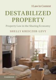 Destabilized Property by Shelly Kreiczer-Levy