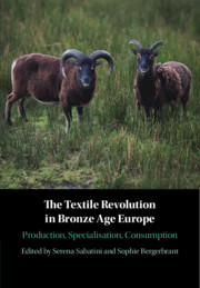 The Textile Revolution in Bronze Age Europe by Serena Sabatini and Sophie Bergerbrant