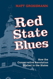 Red State Blues by Matt Grossmann