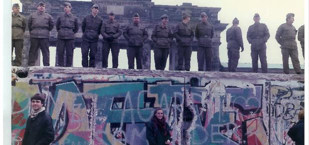 Berlin Wall Nov 11 1989
