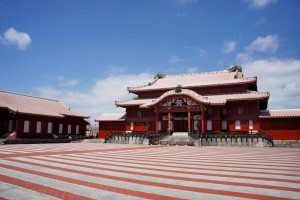 Image: The Main Hall of Shuri Castle before the fire. Photo courtesy of Wikimedia Commons