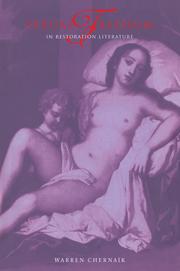 Sexual Freedom in Restoration Literature Warren Chernaik