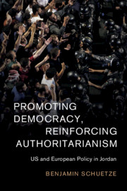 Promoting Democracy, Reinforcing Authoritarianism by Benjamin Schuetze