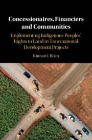 Concessionaires, Financiers and Communities by Kinnari I. Bhatt