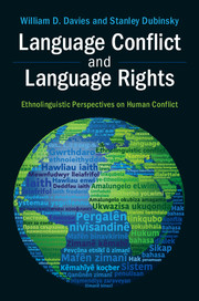 Language Conflict and Language Rights by William D. Davies, Stanley Dubinsky