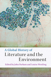 A Global History of Literature and the Environment edited by John Parham and Louise Westling