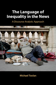 The Language of Inequality in the News by Michael Toolan
