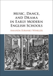 Music, Dance, and Drama in Early Modern English Schools by Amanda Eubanks Winkler