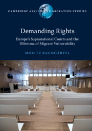Demanding Rights by Moritz Baumgärtel