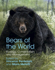Bears of the World edited by Vincenzo Penteriani and Mario Melletti