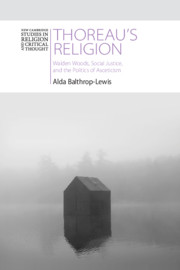 Thoreau's Religion By Alda Balthrop-Lewis