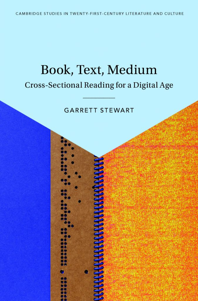 Book, Text, Medium By Garrett Stewart