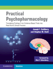 Practical Psychopharmacology by Joseph Goldberg and Stephen Stahl