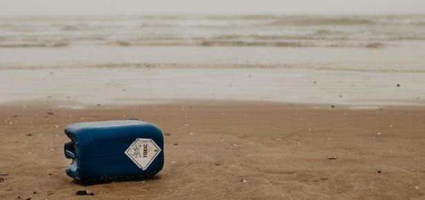 Image of litter on beach