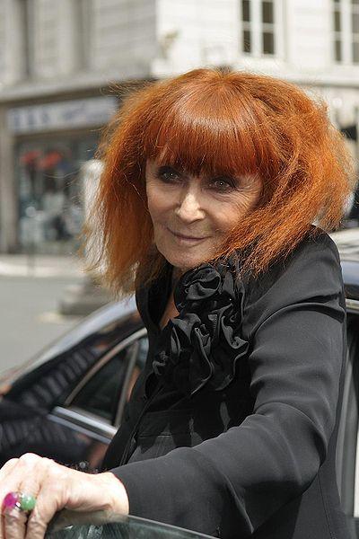 French fashion designer Sonia Rykiel