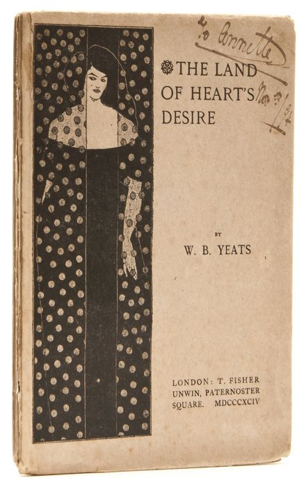Early edition of The Land of Heart's Desire by W.B. Yeats.