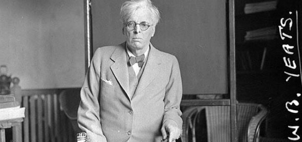 W B Yeats aged 58, photo By National Library of Ireland on The Commons (W.B. Yeats Uploaded by russavia) [see page for license], via Wikimedia Commons