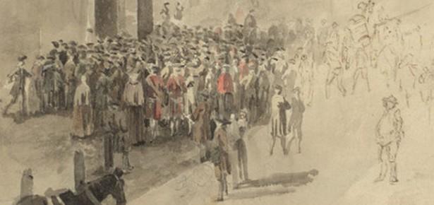 A London crowd