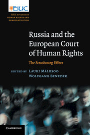 European Court of Human Rights edited by Lauri Mälksoo