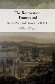 The Restoration Transposed by Gillian Wright