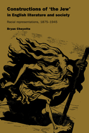 Constructions of 'the Jew' in English Literature and Society Bryan Cheyette