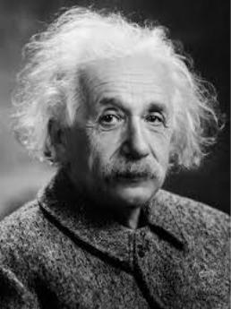 Albert Einstein (From Wikimedia Commons)