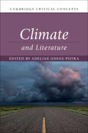 Climate and Literature edited by Adeline Johns-Putra