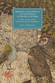 Mimicry and Display in Victorian Literary Culture by Will Abberley