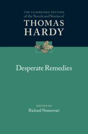 Desperate Remedies edited by Richard Nemesvari