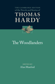 The Woodlanders by edited by Alan Manford
