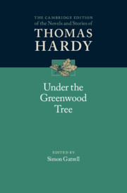Under the Greenwood Tree edited by Simon Gatrell