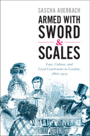 Armed with Sword and Scales By Sascha Auerbach