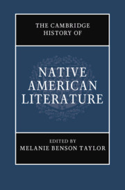 The Cambridge History of Native American Literature By Melanie Benson Taylor