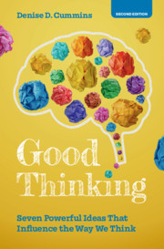 Good Thinking by Denise D. Cummins
