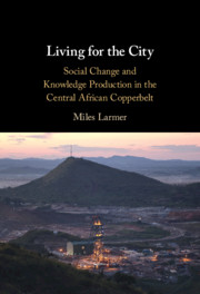 Living for the City by Miles Larmer